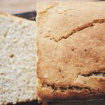 a loaf of gluten free vegan bread