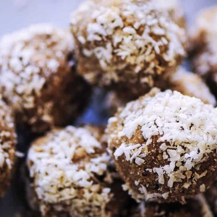 Coconut Bliss Balls (Vegan, Nut-Free)