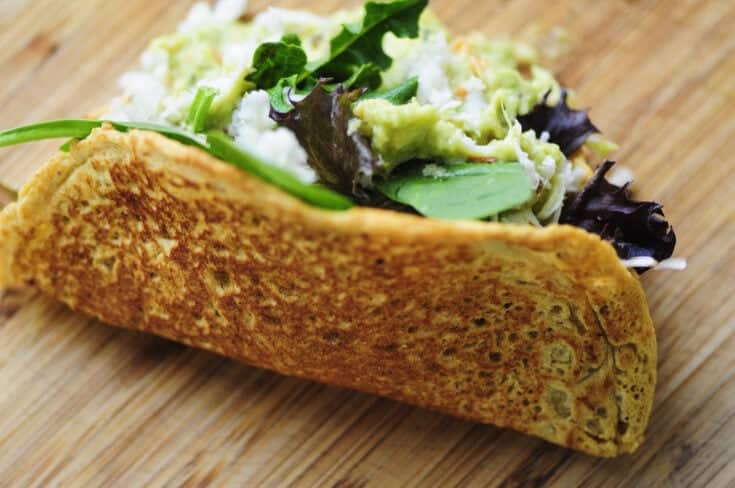 Chickpea Flour Tortillas, Chips & Taco Shells (Gluten-Free, Vegan)