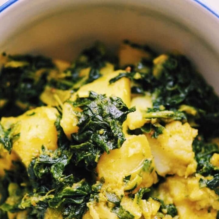 Spicy Kale & Potato Curry (Vegan, Gluten-Free)