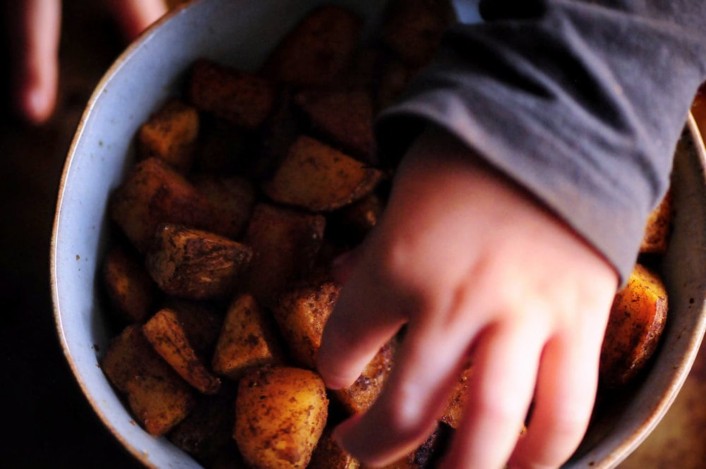 Pan-Fried Paprika Potatoes from Eat Dairy Free by Alisa Fleming