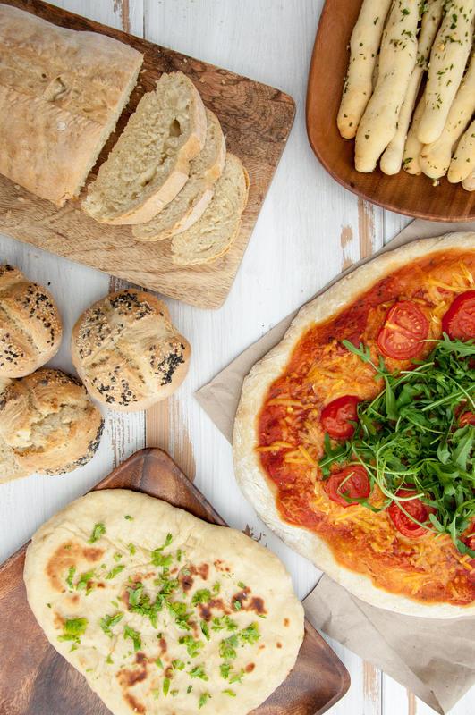 Multi-Purpose Bread from The Veginner's Cookbook by Bianca Haun and Sascha Naderer