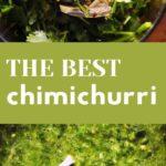 pinterest pin for chimichurri