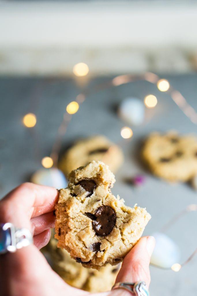 the best chocolate chip cookies (vegan, keto, paleo, & gluten-free)