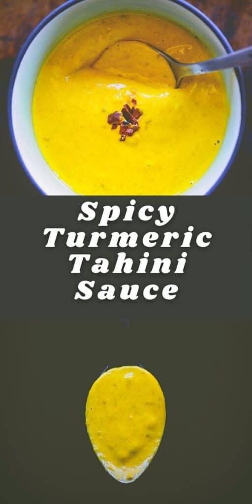 turmeric tahini dressing