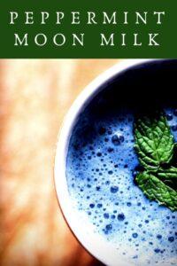 pinterest pin for blue moon milk