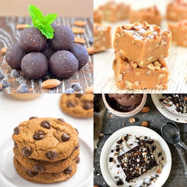 vegan coconut flour cookies recipes image grid