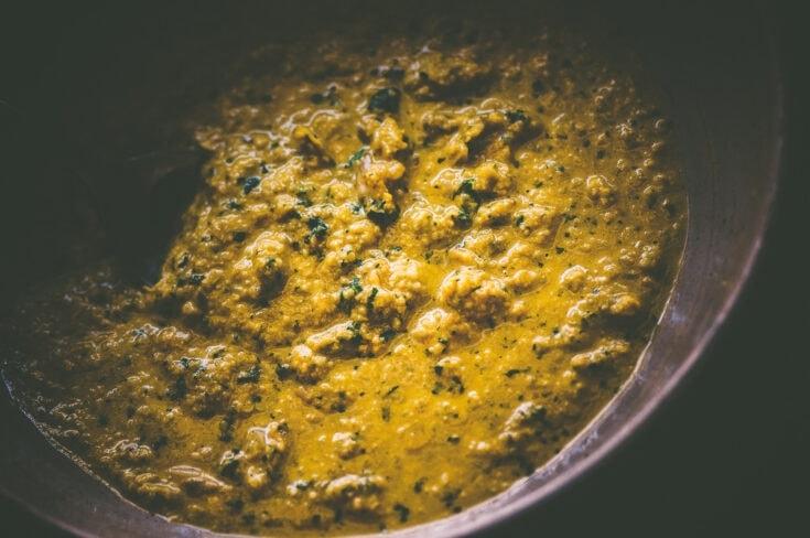 Turmeric & Cilantro Sunflower Seed Sauce (Vegan, Gluten-Free)