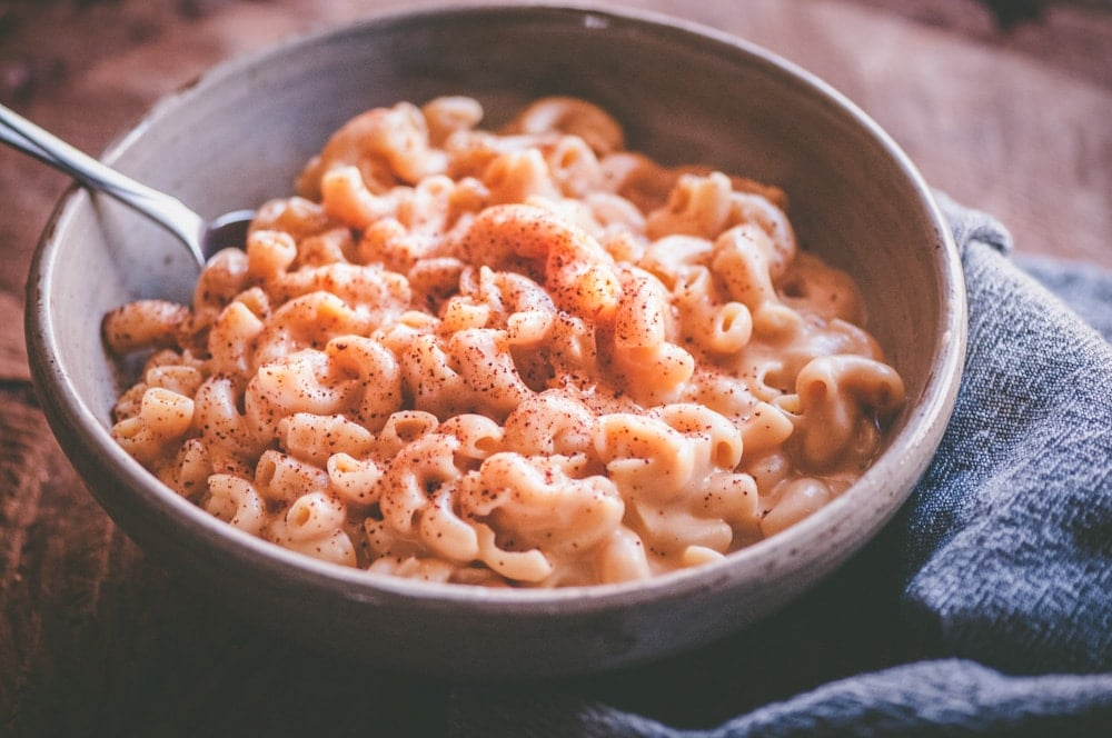 a big bowl of chipotle mac and cheese