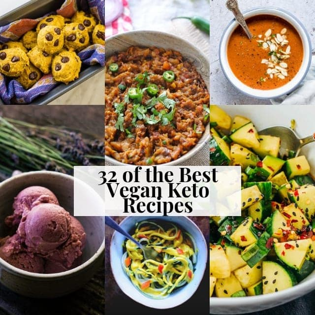20 Best Vegan Keto Recipes for a Low-Carb Diet