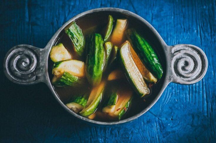 Easy Spicy Refrigerator Pickles Recipe