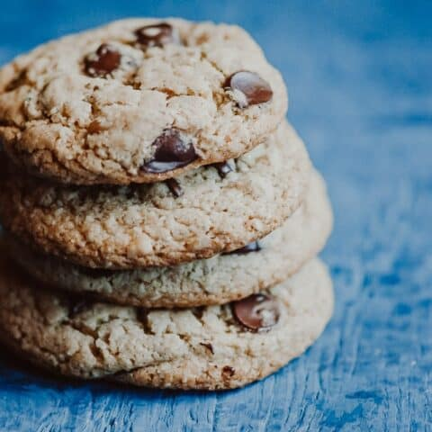 The Best Gluten-Free Vegan Chocolate Chip Cookies (Nut-Free)
