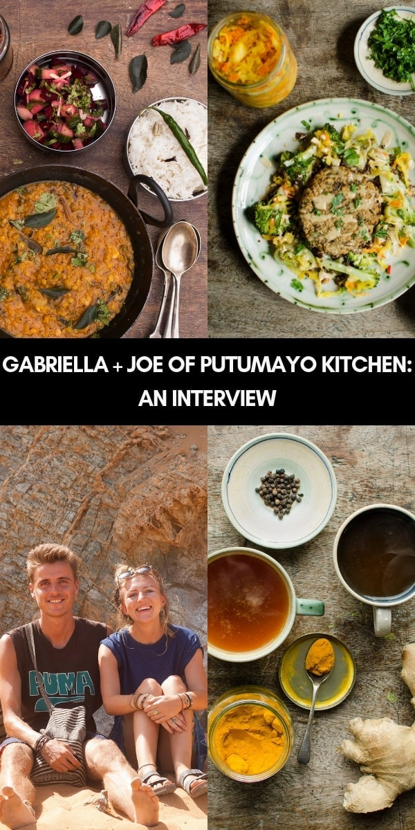 Food Talk Series 06: An Interview with Gabriella and Joseph of the amazing food blog Putumayo Kitchen!  #putumayokitchen #foodblog #foodblogger #interview
