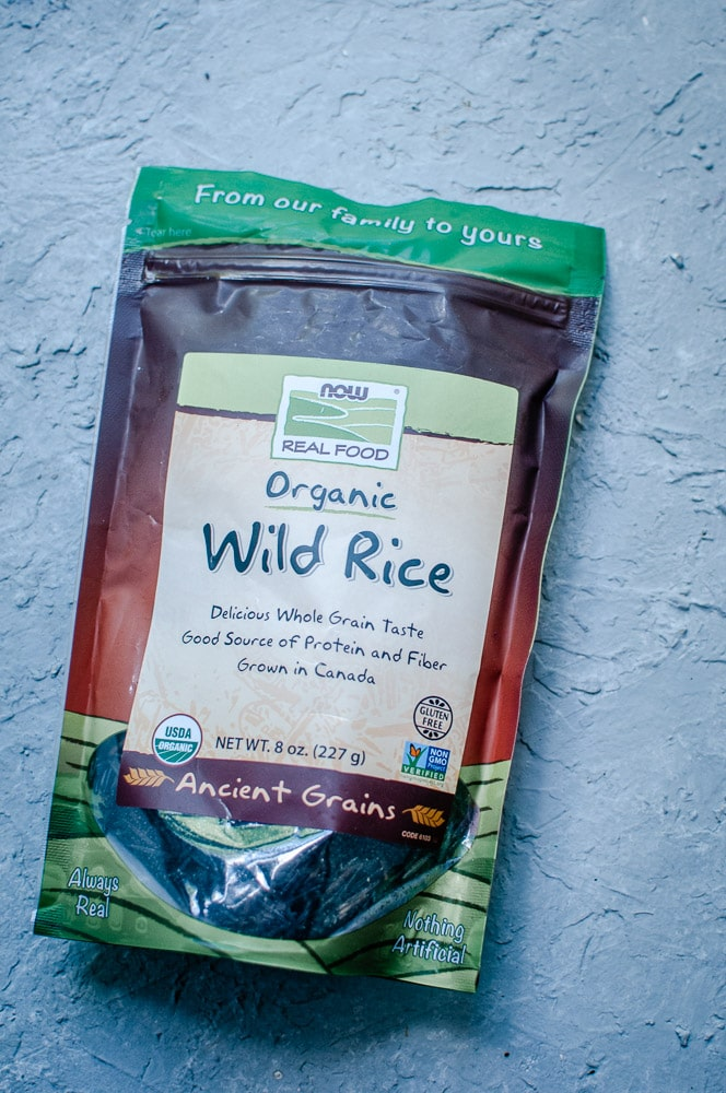 NOW Foods Wild Rice - Vegan Instant Pot Wild Rice Soup (Gluten-Free) - An easy and healthy vegetarian wild rice soup with a creamy cashew base, perfect for a bowl of autumn comfort! This pressure cooker wild rice soup is bursting with beautiful flavors and textures! Made with lovely ingredients from iHerb + a discount! #sponsored #iherb #wildrice #wildricesoup #veganwildricesoup #vegetarianwildrice soup #instantpotwildrice