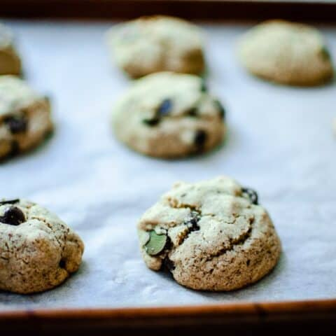Vegan Gluten-Free Chocolate Chip Cookies Recipe with Sorghum Flour