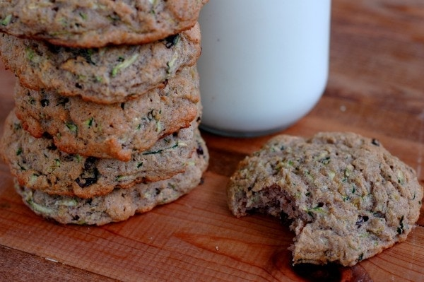 Paleo Cinnamon Raisin Zucchini Breakfast Cookies :