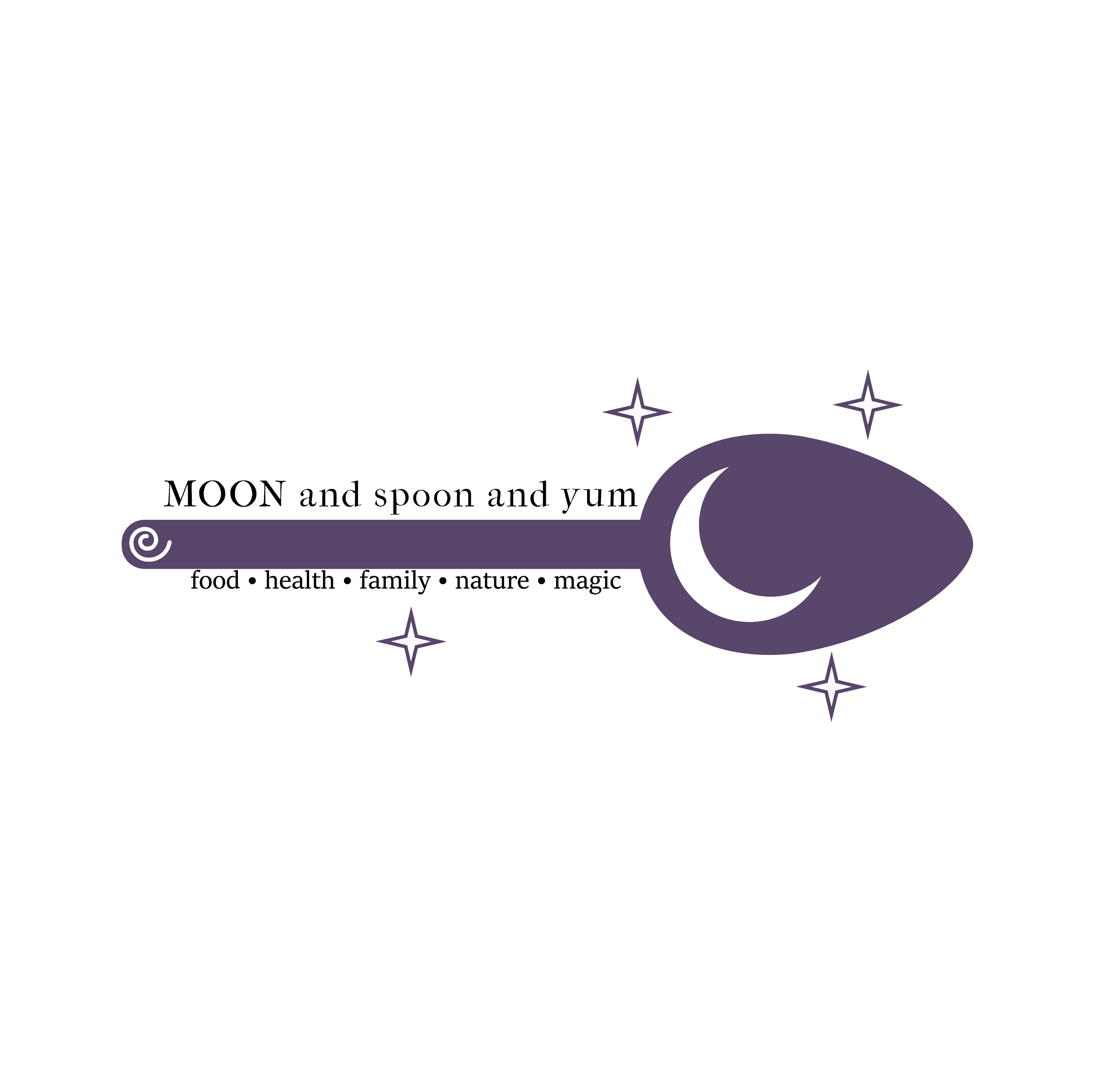 MOON and spoon and yum
