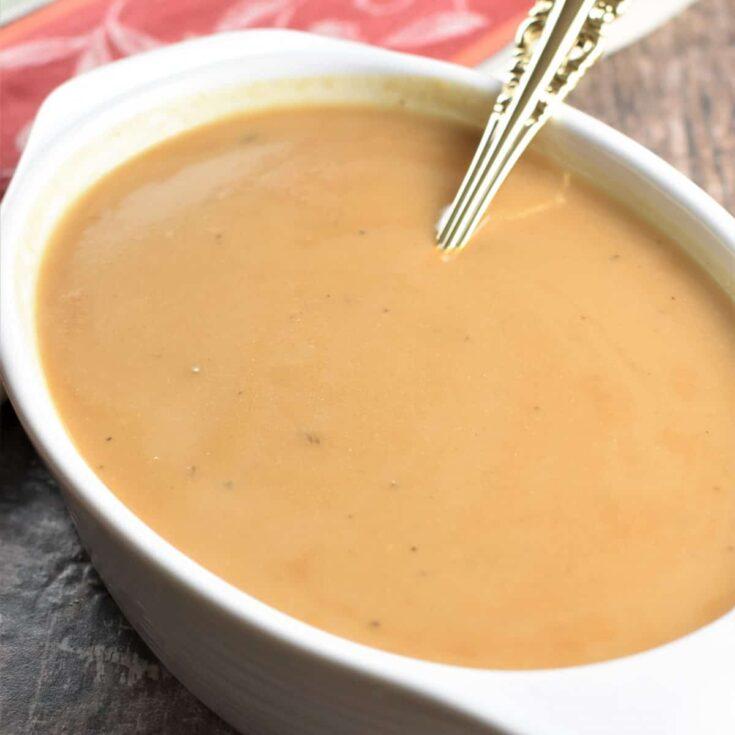 Vegan & Gluten-Free Gravy with Chickpea Flour