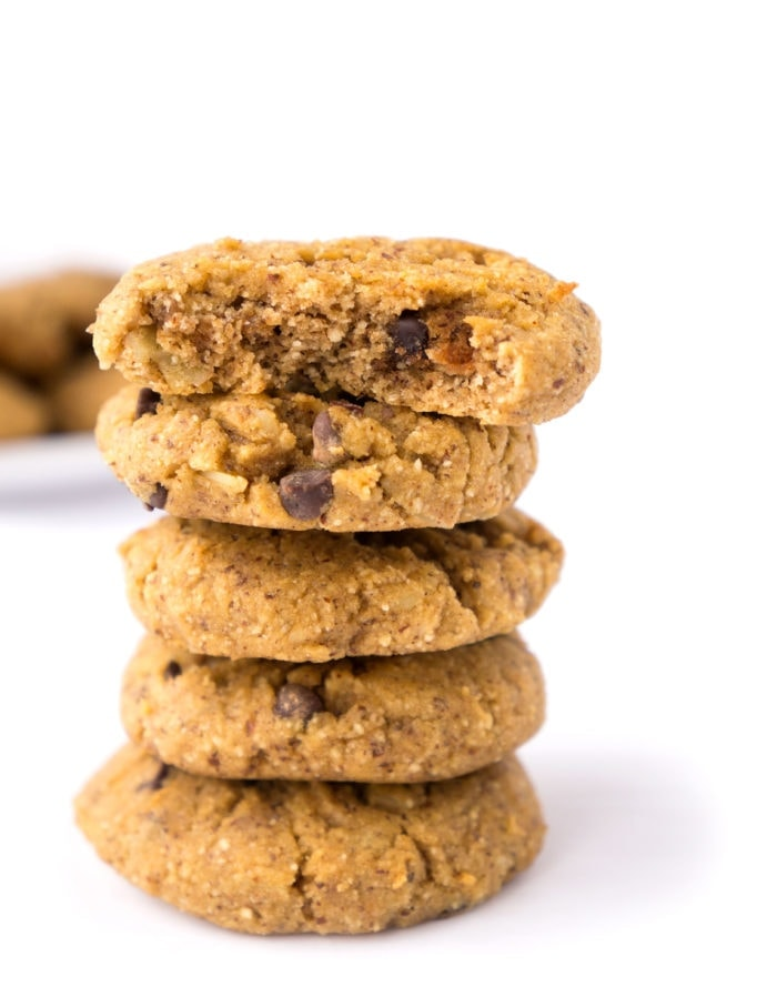 Almond, Coconut & Chocolate Cookies | Haute & Healthy Living