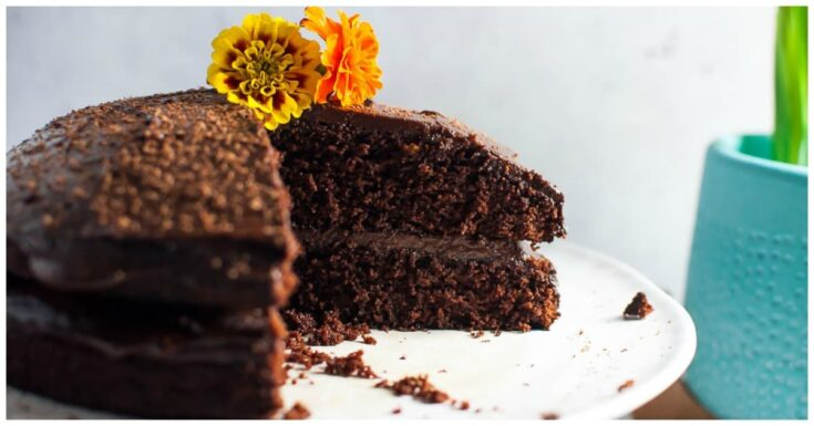 The Ultimate Chocolate Avocado Cake with Thick Luscious Frosting