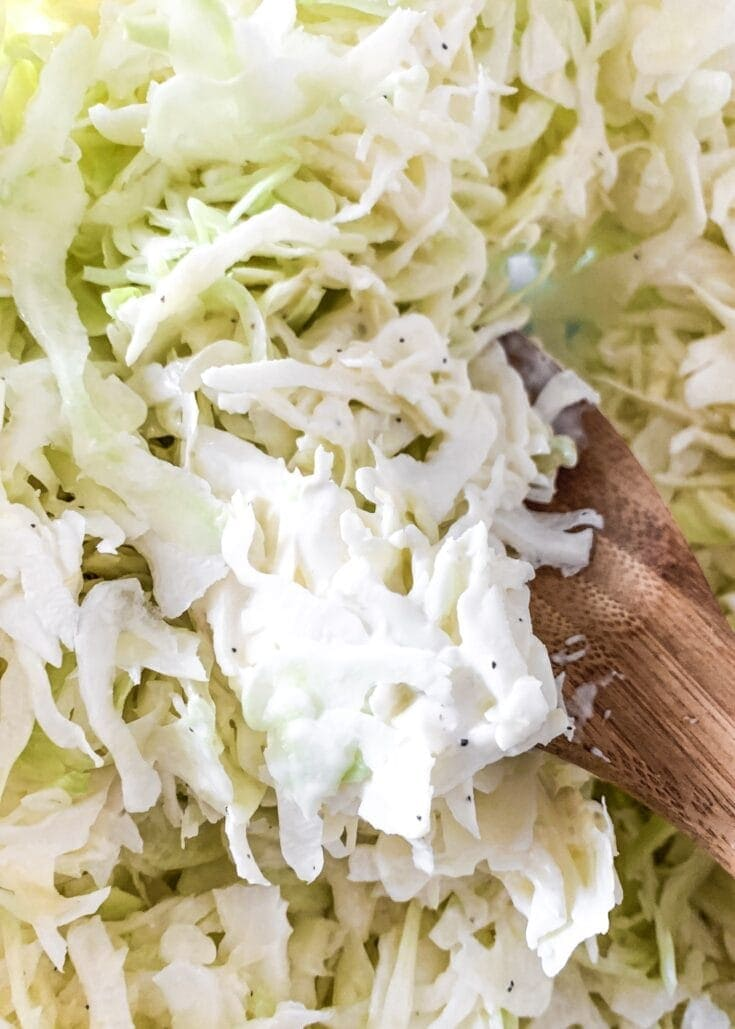 Keto Friendly Low Carb Coleslaw Recipe