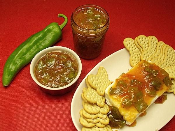 Peach Hatch Chile Pepper Jam Recipe