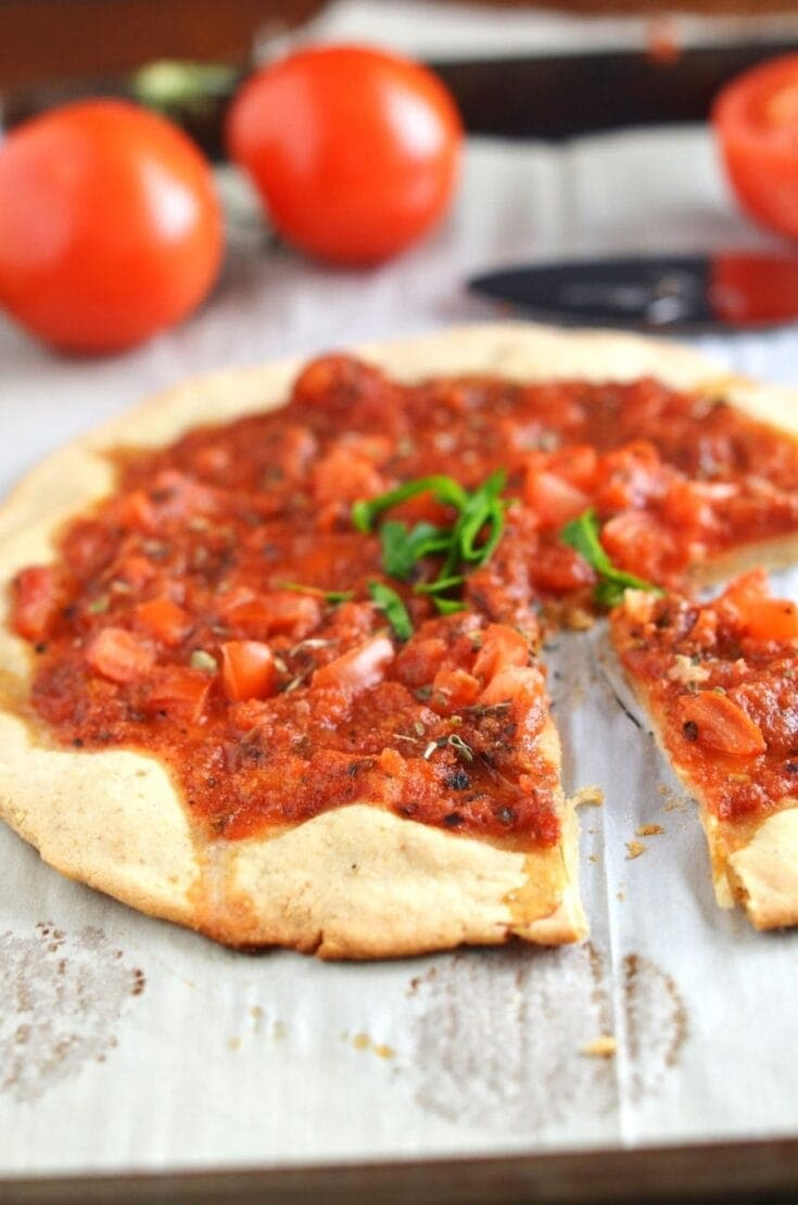 Awesome and Crispy Gluten-Free Pizza Crust (Paleo & Vegan)!