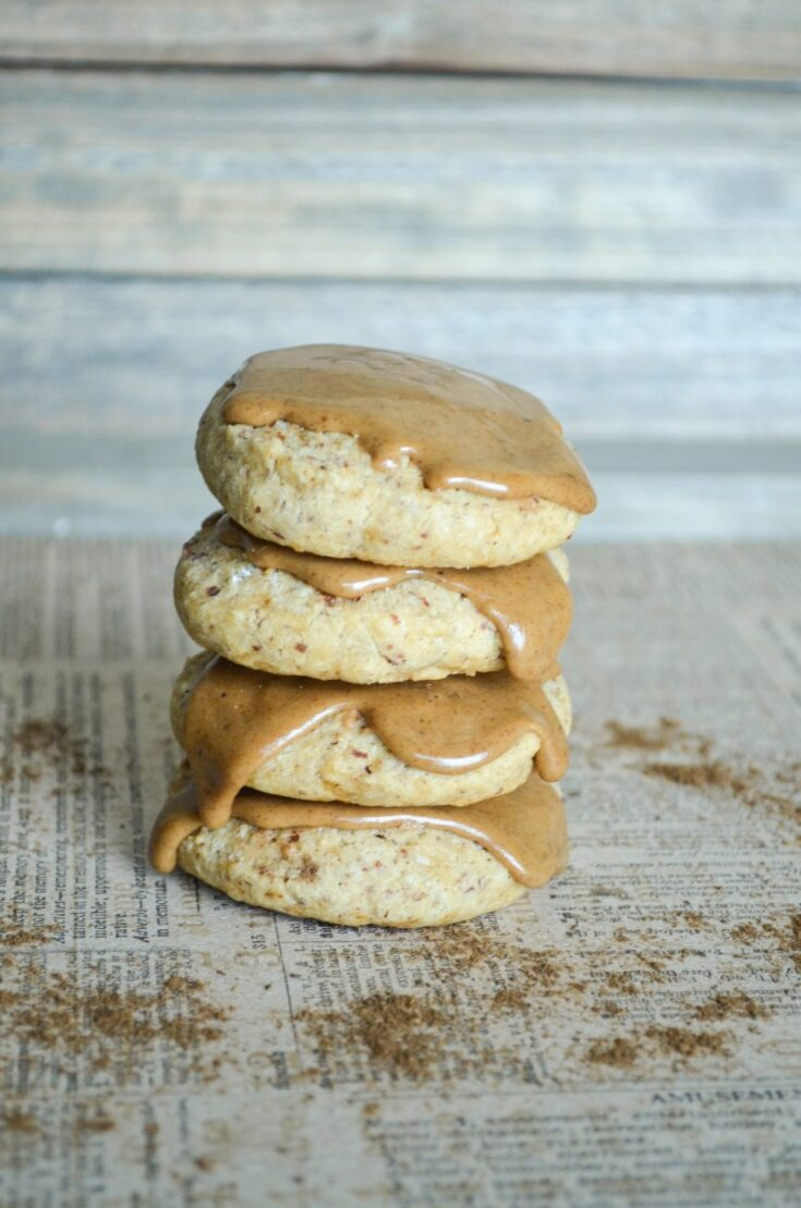 Soft Sugar Cookies with Spiced Maple Frosting