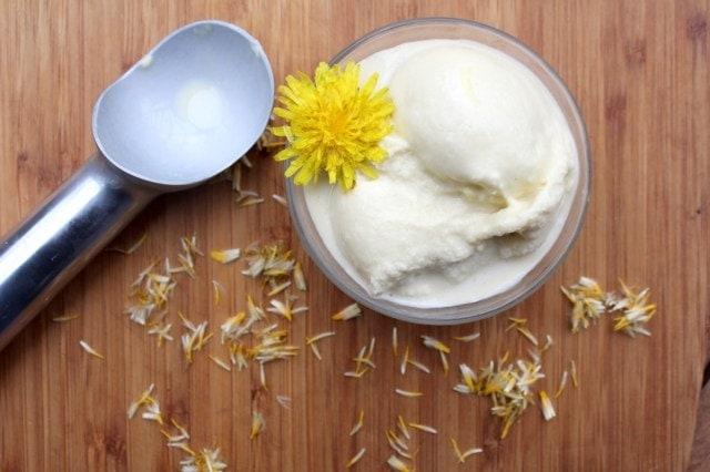 Dandelion & Honey Ice Cream
