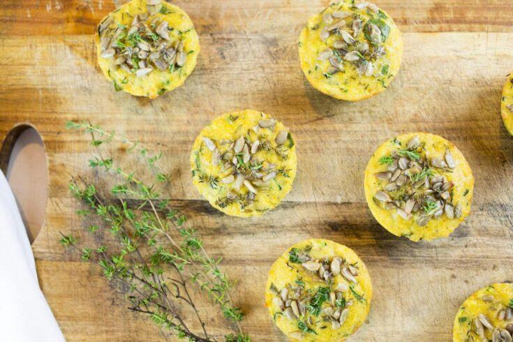 Gluten Free & Paleo Savoury Muffins