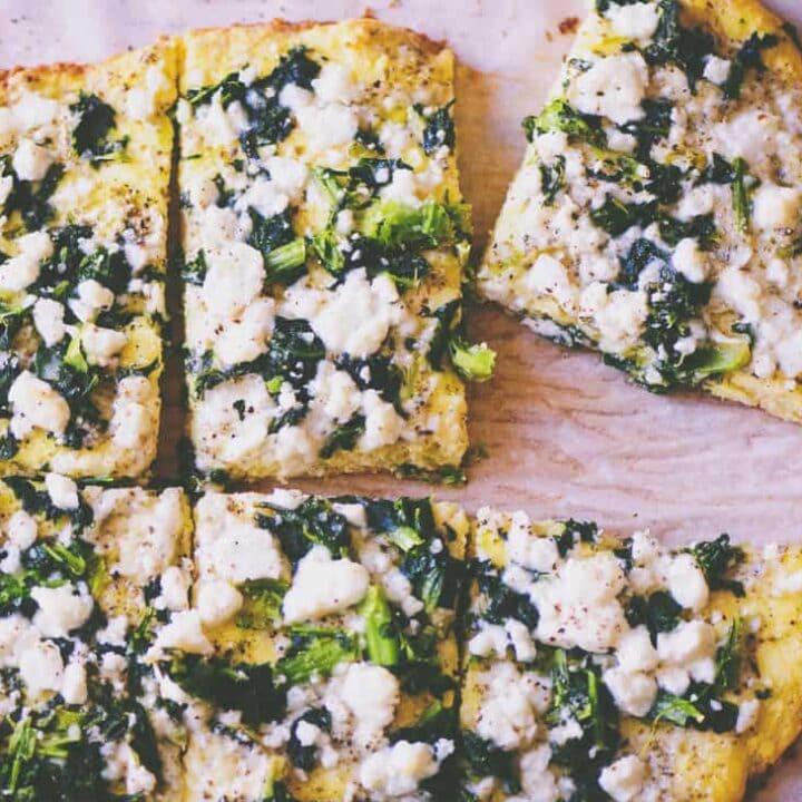 Coconut Flour Pizza Crust (Gluten-Free, Keto)