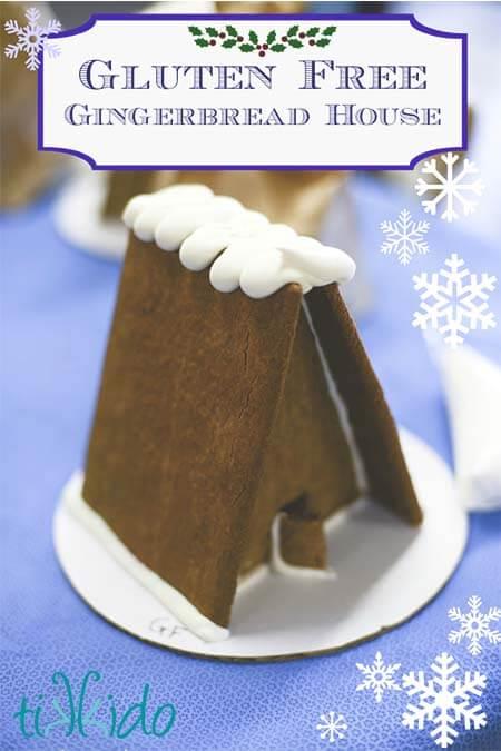 Gluten Free Gingerbread House Recipe