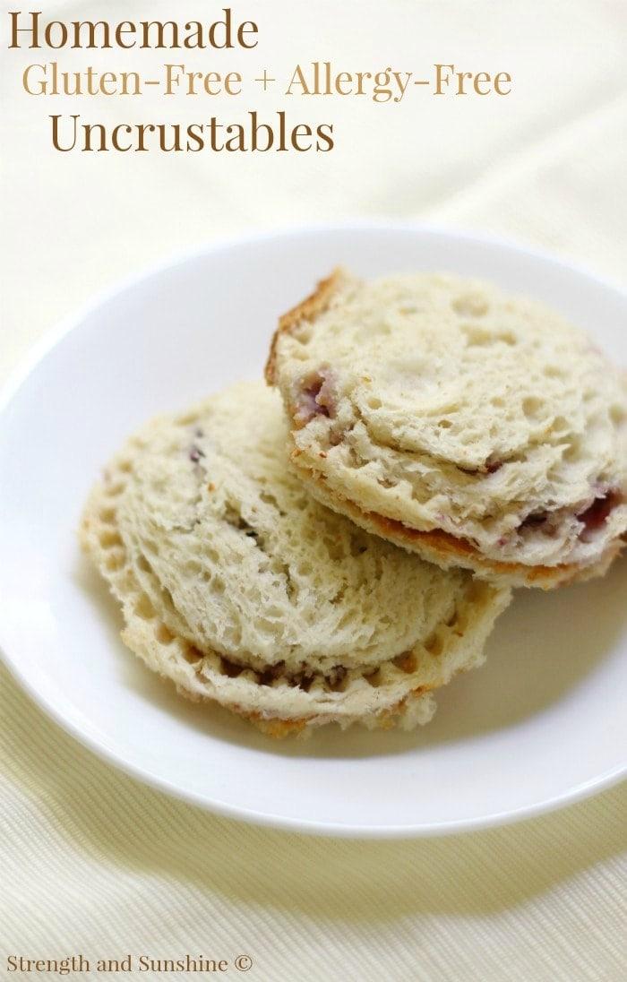 Homemade Gluten-Free + Allergy-Free Uncrustables (Vegan)