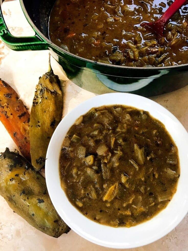 Vegetarian Hatch Green Chili