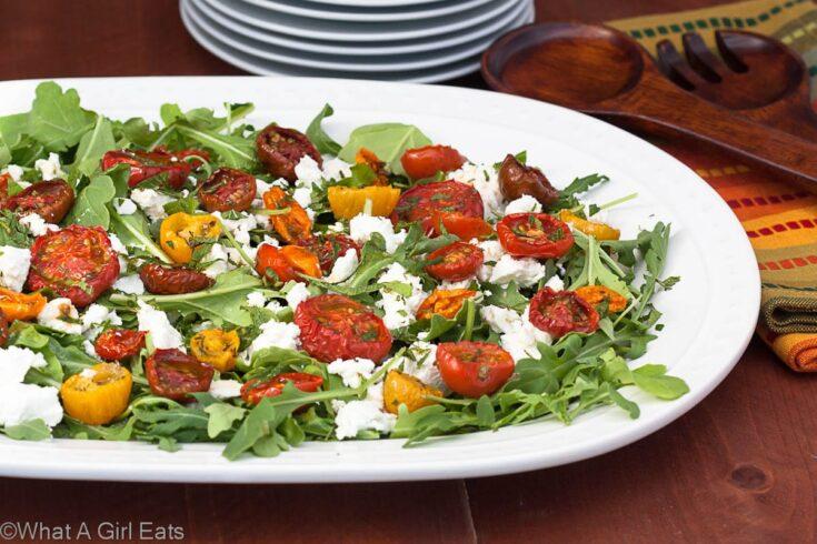Oven Roasted Tomato Salad
