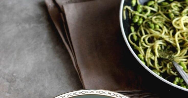 Kale Spaghetti Genovese