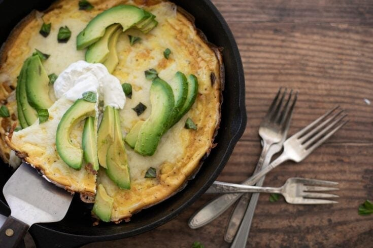 Keto Vegetable Frittata Recipe