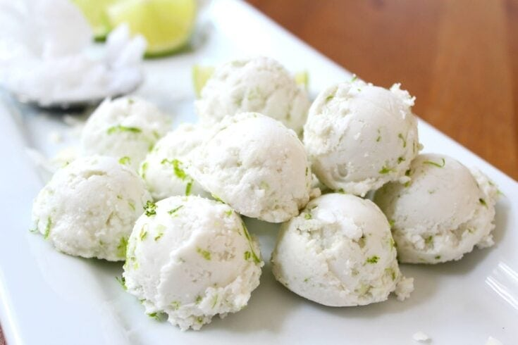 Silky Smooth Coconut-Lime Fat Bombs (Keto, GAPS, Paleo)