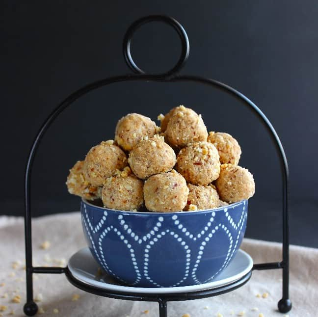 No Bake Protein Balls square sp