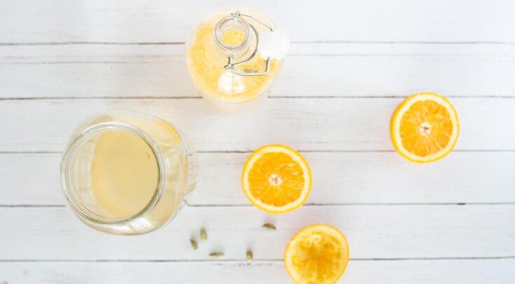 Orange Cardamom Kombucha | Melissa Torio