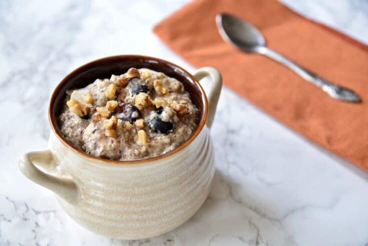 Paleo Protein Porridge {Grain Free, Dairy Free}