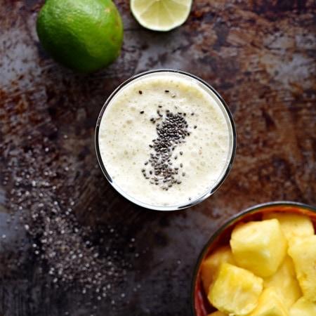 Probiotic Pineapple Kefir Drink (V, GF)