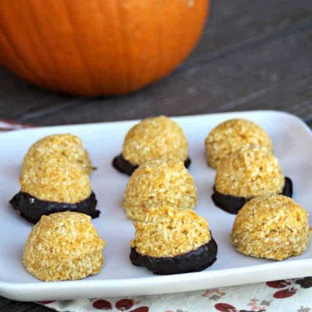 Pumpkin Coconut Macaroons