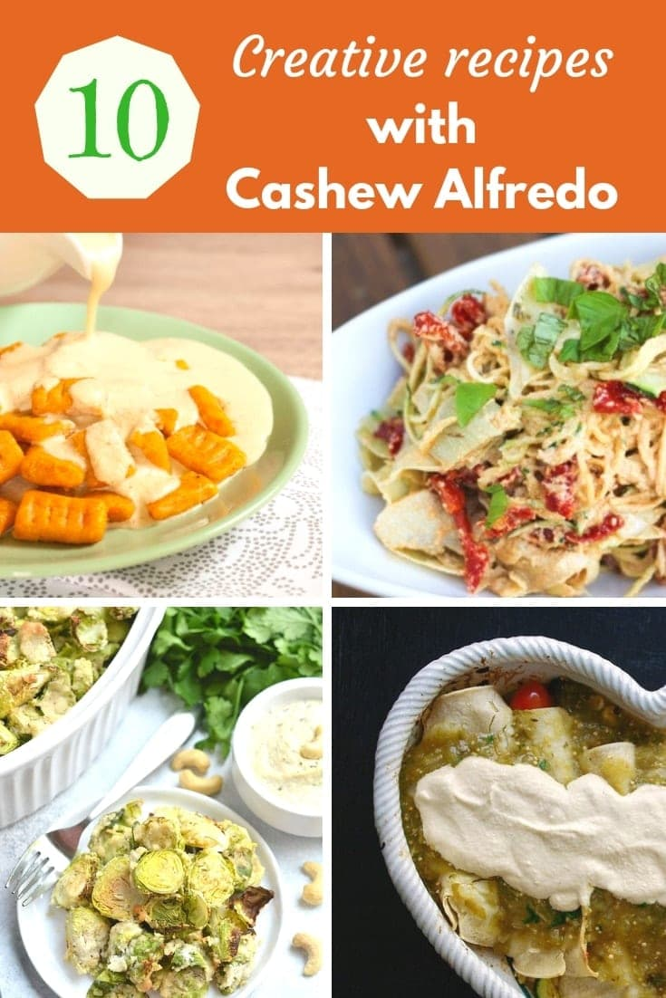 Easy Vegan Alfredo Sauce Recipe (10+ ways to use it)
