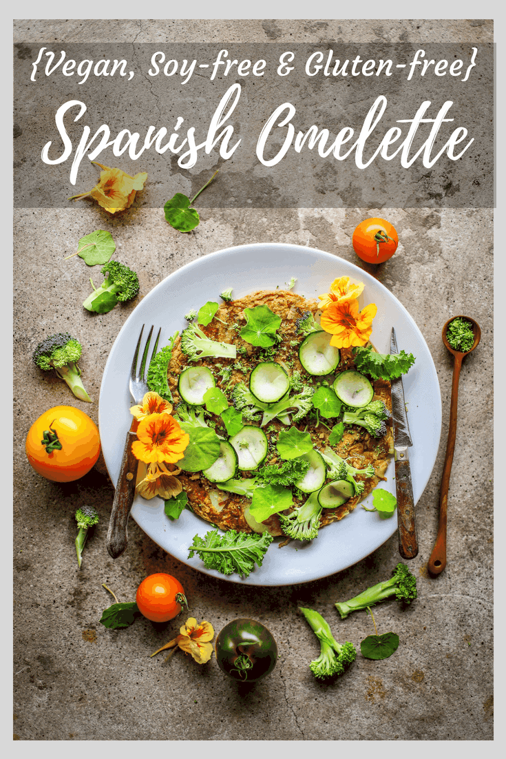 Super-Green Vegan Spanish Omelette