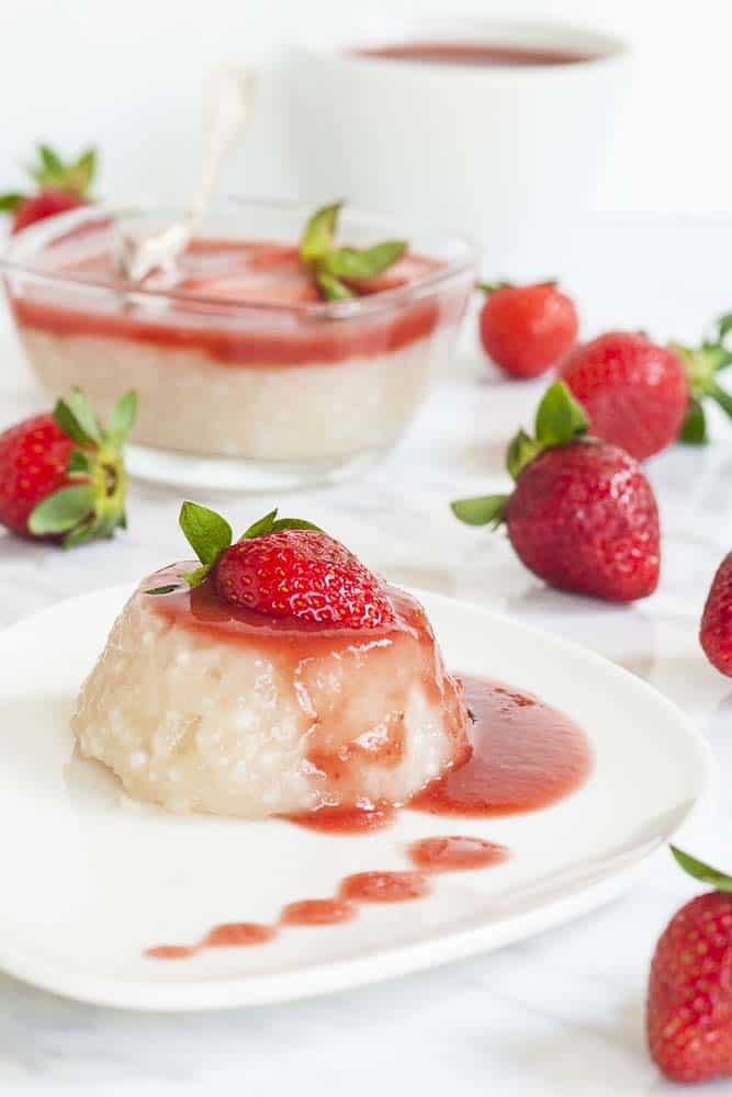 Vegan Tapioca Pudding