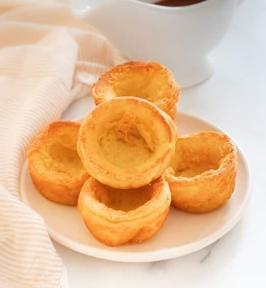 Perfect Vegan Yorkshire Puddings (gluten-free option)- A Virtual Vegan
