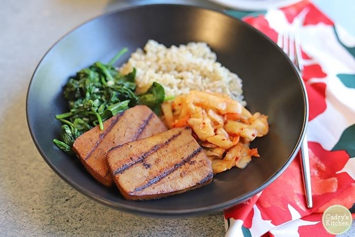 Bulgogi tofu bowls (Vegan)