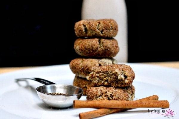 Chewy Chai Snickerdoodles – Gluten Free, Vegan, Paleo