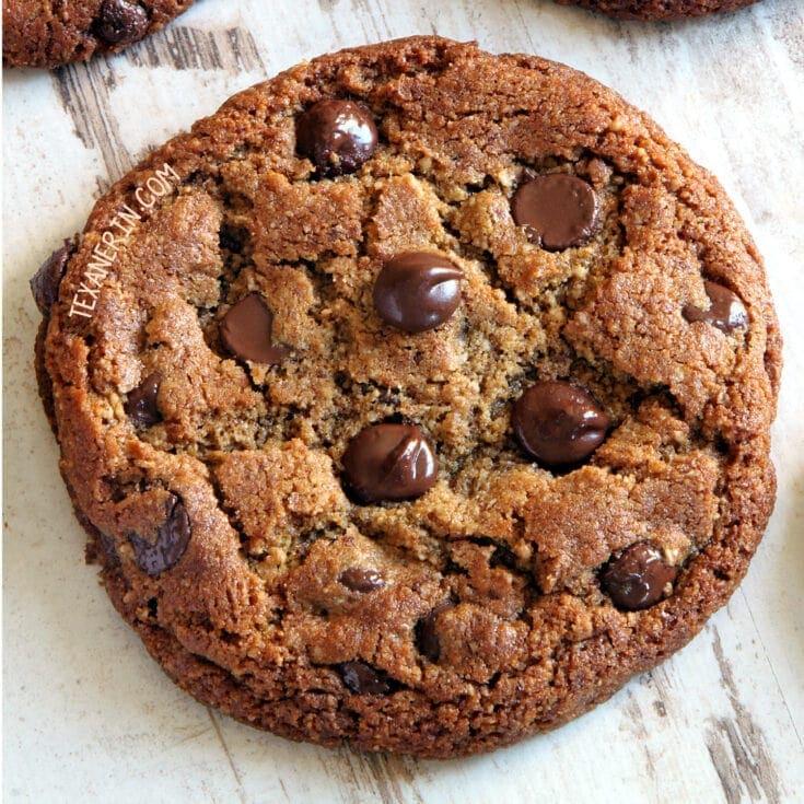 Paleo Peanut Butter Cookies (vegan option, dairy-free) - Texanerin Baking